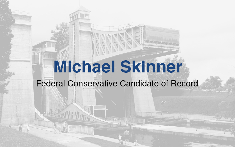 Elect Michael Skinner 2019 Conservative Candidate for Peterborough - Kawarthas