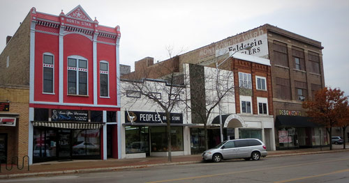 Downtown Escanaba