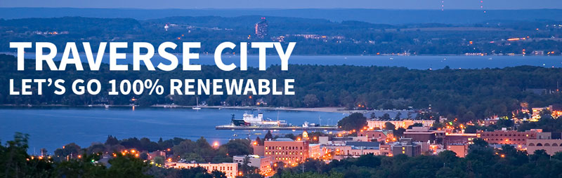 Help Traverse City Go 100% Renewable