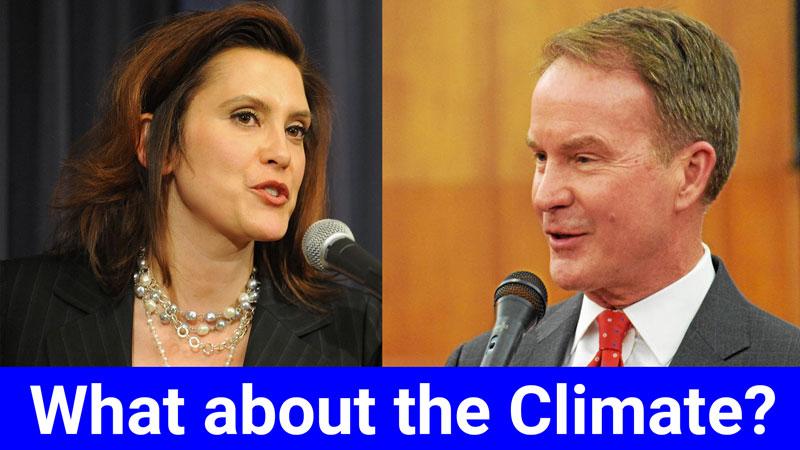 Schuette/Whitmer Climate Debate