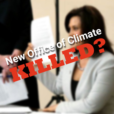 Killed the Office of Climate?