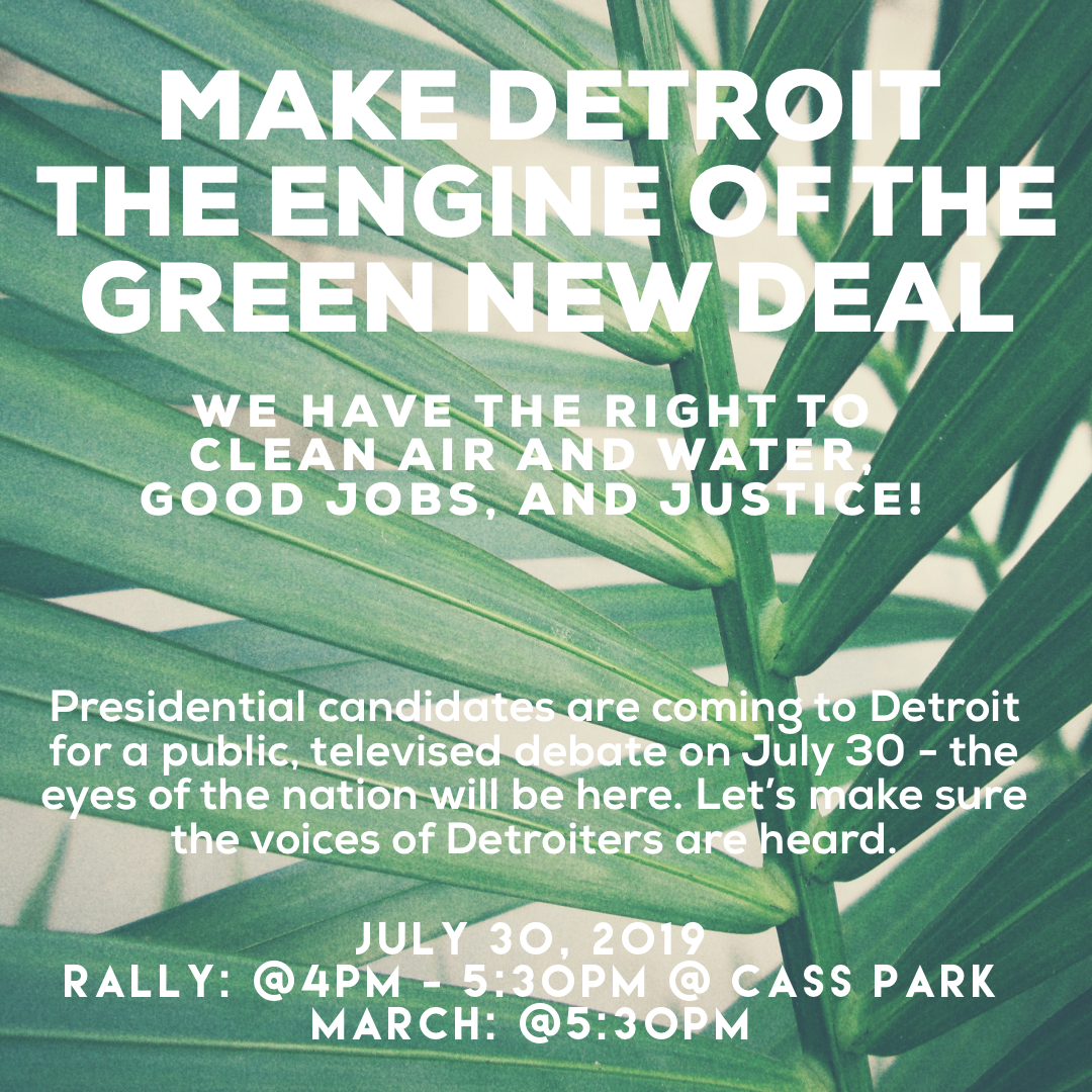 Green New Deal Rally