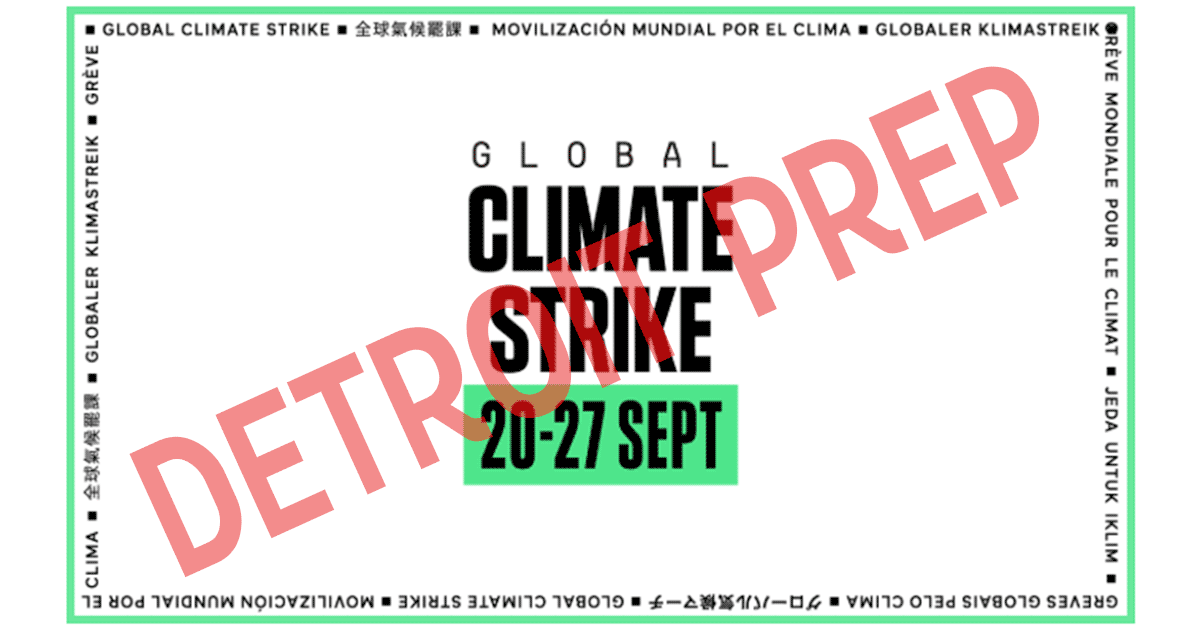 Detroit Prep Climate Strike