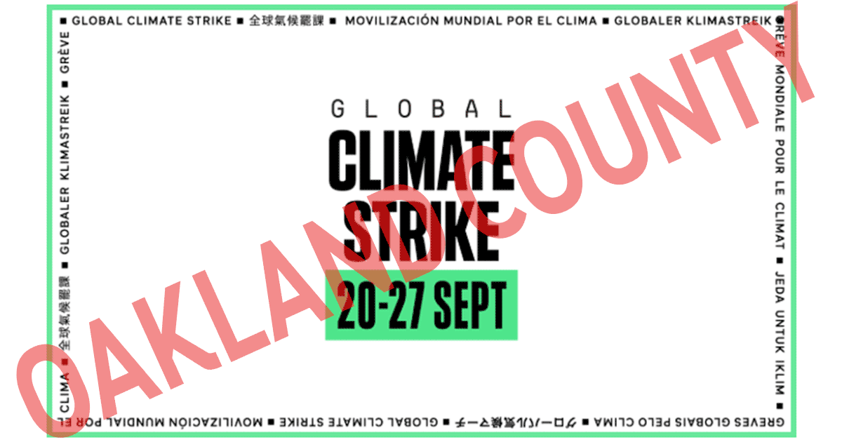 Oakland County Climate Strike
