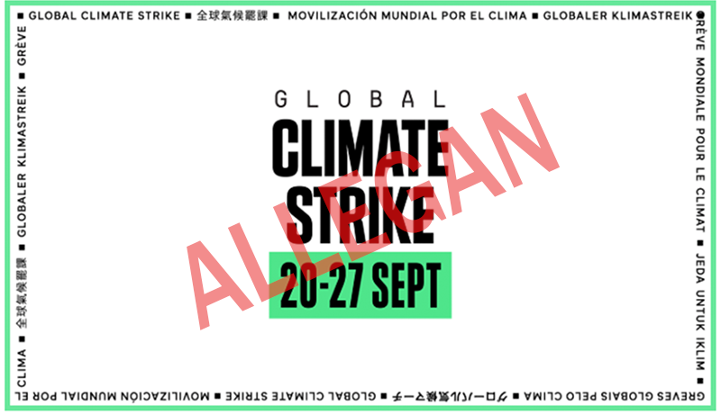 Allegan Climate Strike