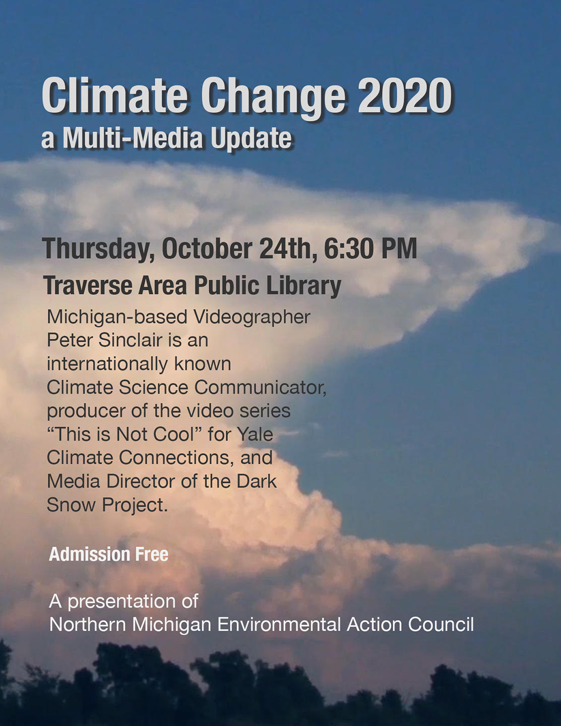 Climate Change 2020 Flyer