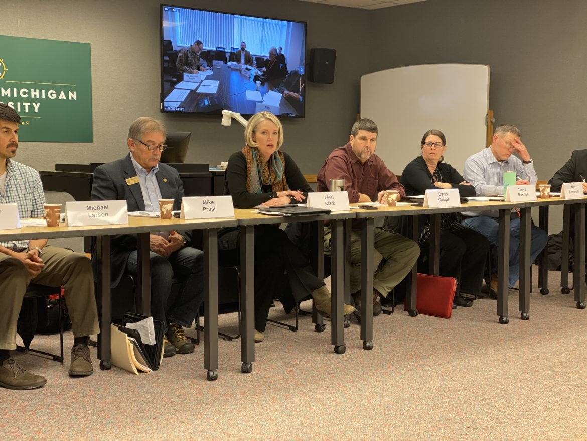 The U.P. Energy Task Force, chaired by Michigan Department of Environment, Great Lakes and Energy Director Liesl Eichler Clark.