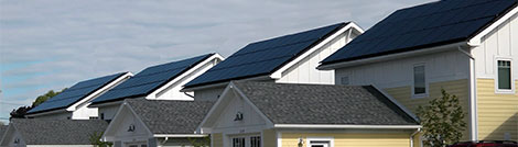 Solar Panels on Rooftops in Michigan