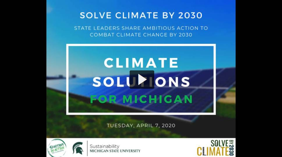 Solve Climate by 2030: Climate Solutions for Michigan