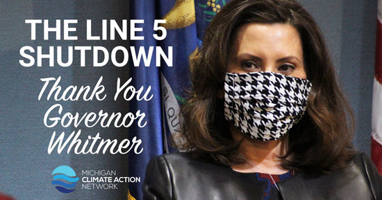 Thank Governor Whitmer