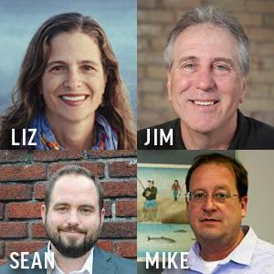 Liz, Jim, Mike, Sean