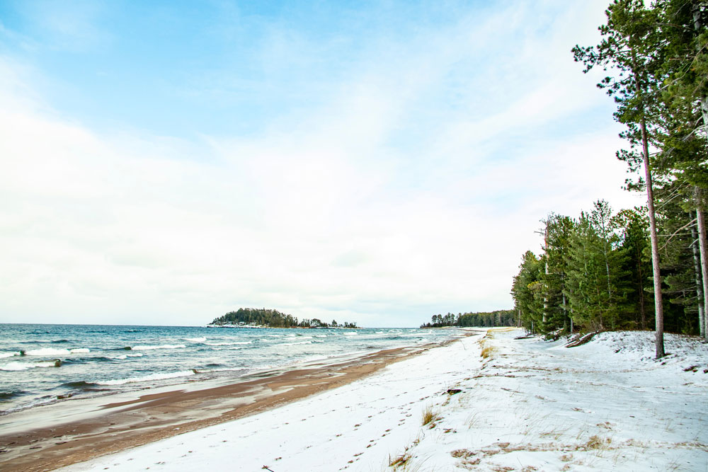 Lack of Ice Cover on Lake Superior