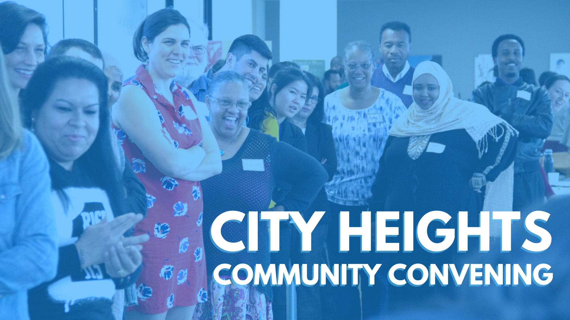 City Heights Community Convening Banner