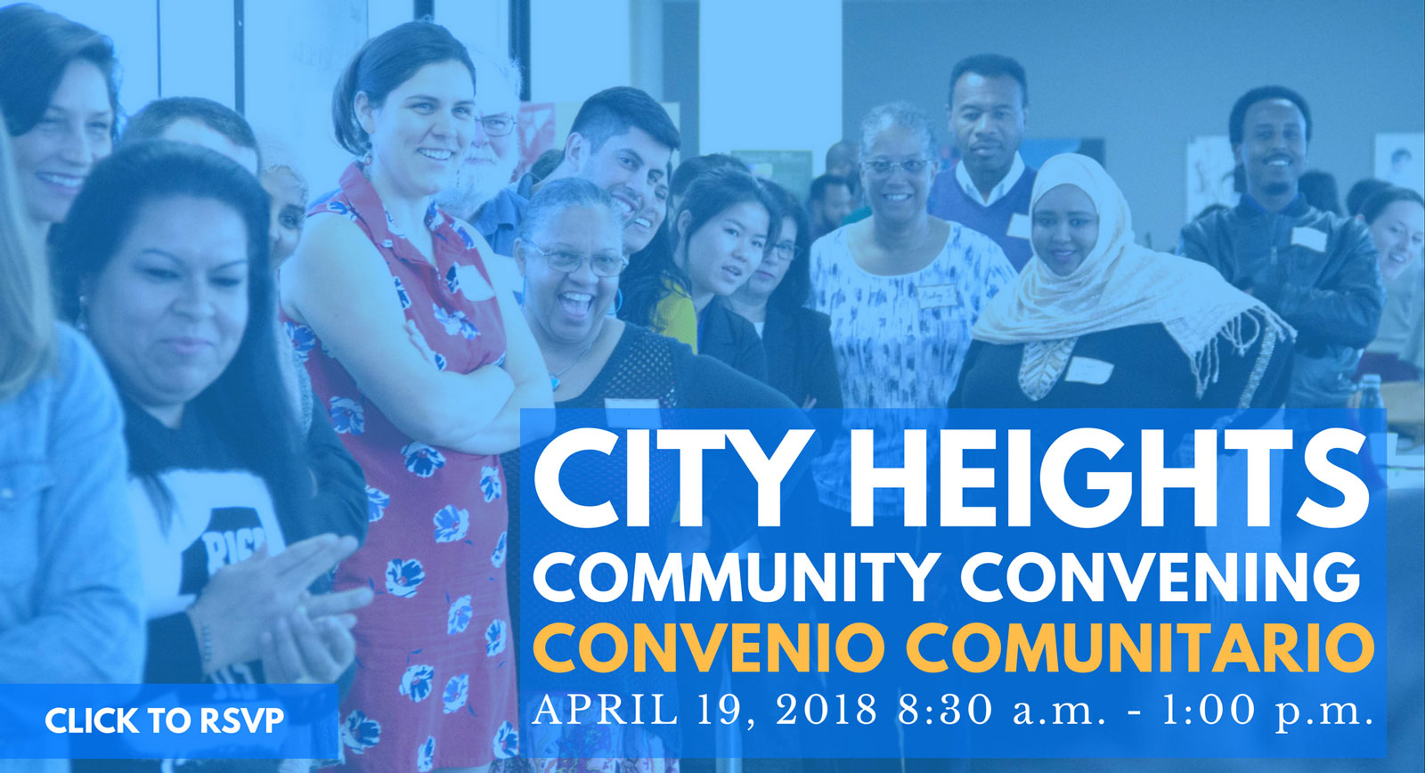RSVP to Community Convening