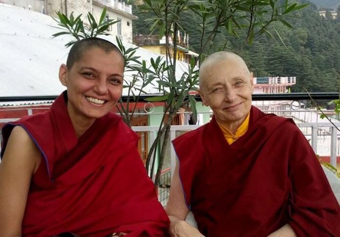Ven. Samten and Tenzin Palmo