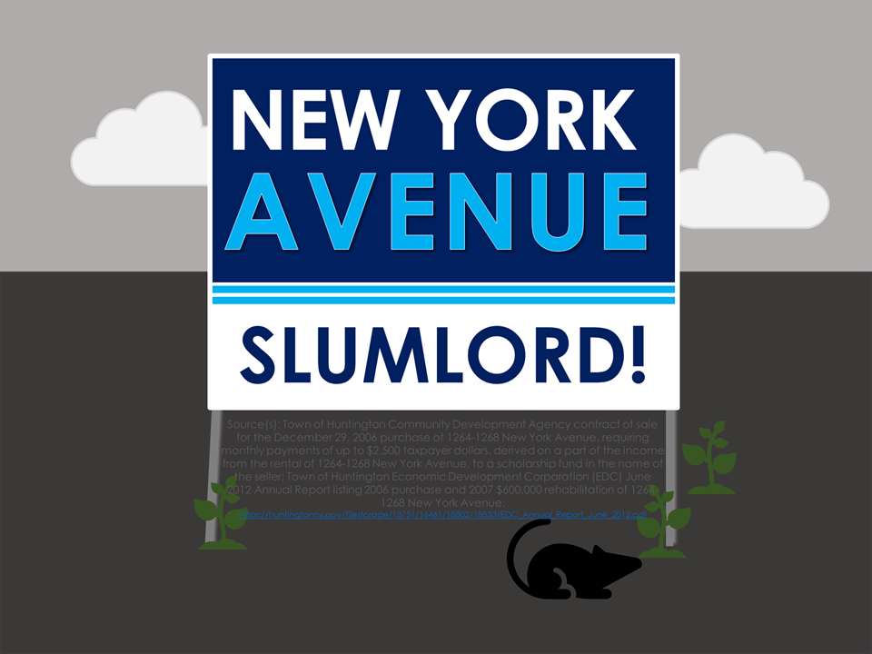 Joan Cergol Makes Payments to New York Avenue Slumlord