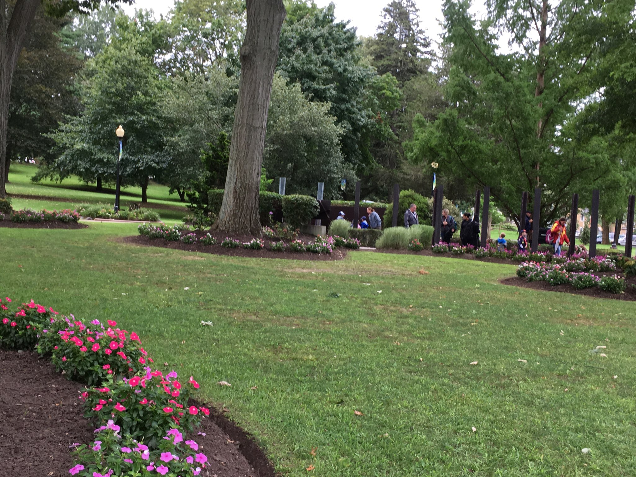Andre Sorrentino has received much praise for his beautification efforts on the Village Green!