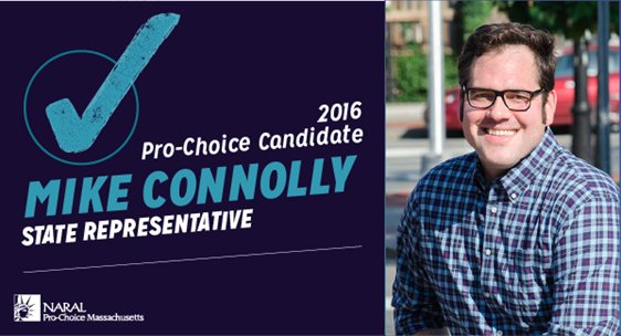 NARAL endorses Mike Connolly for State Rep
