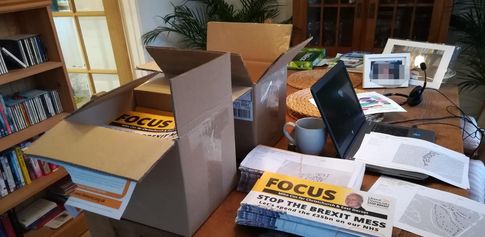 Focus Leaflets for Lib Dems Campaign