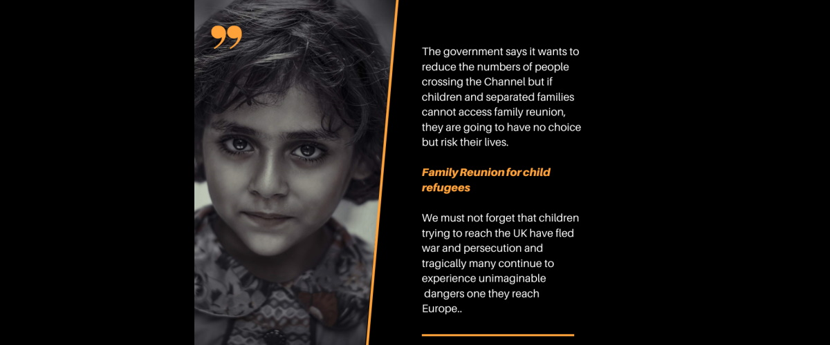 family reunion for child refugees