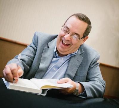 Morley book signing