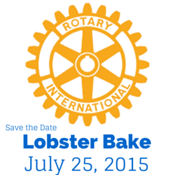 Save the date for Milford Rotary's Lobster Bake 2015!