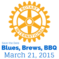 Save the Date! Milford Rotary's Blues, Brews & BBQ 2015