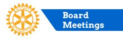 Milford Rotary Board Meetings