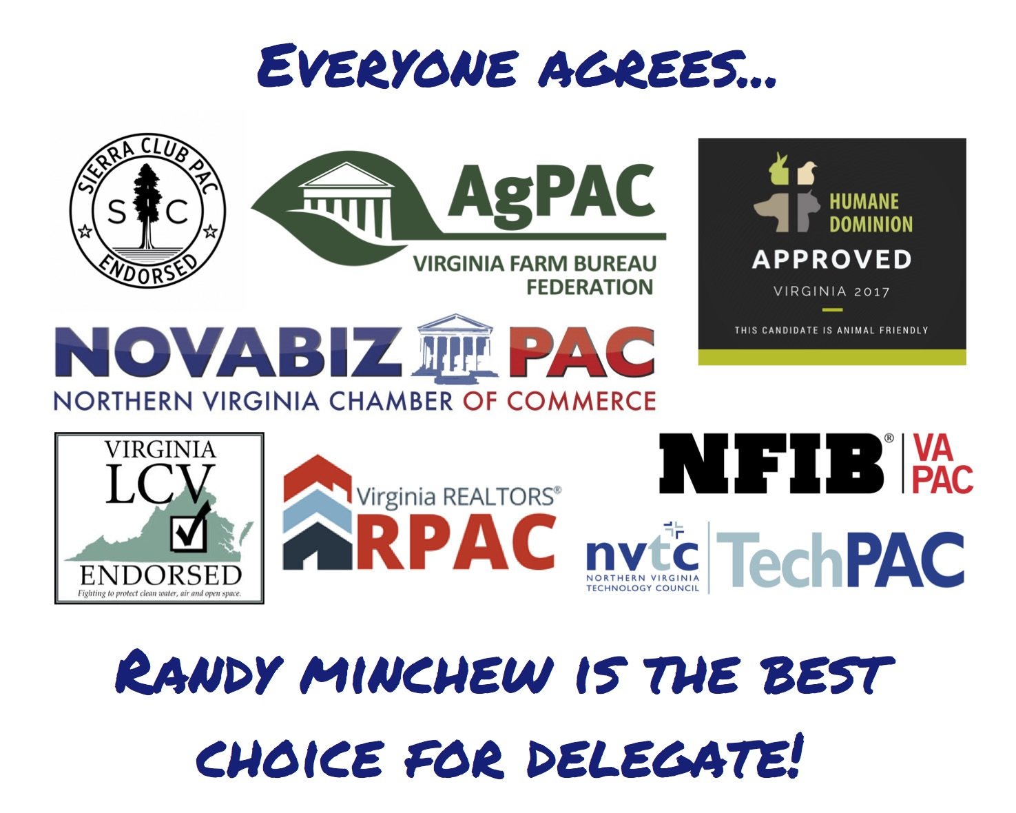 Minchew for Delegate