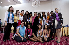 Young Women at the Youth Leaders Forum in 2011