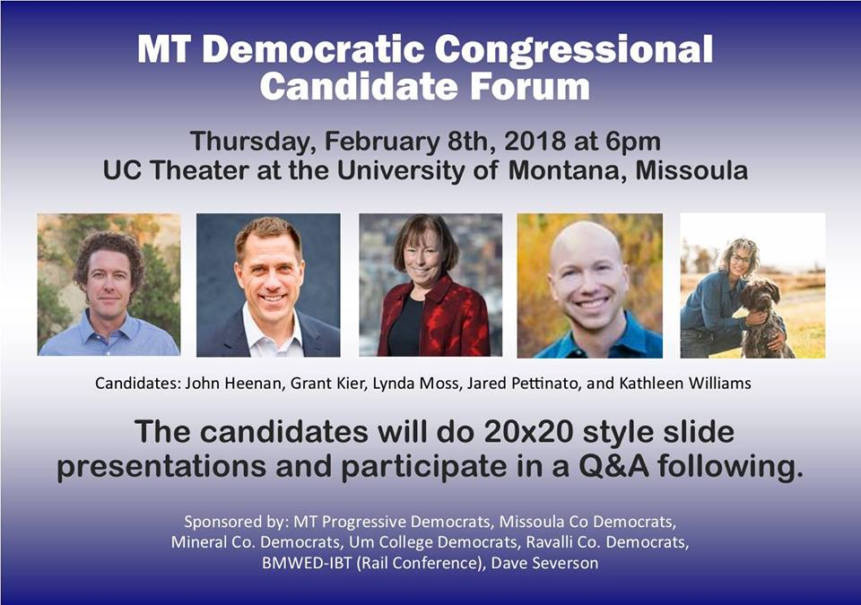 Congressional Candidate Forum