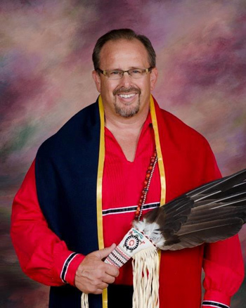 Billy Friend, Chief, Wyandotte Nation