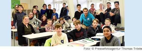 Foto von Schulklasse