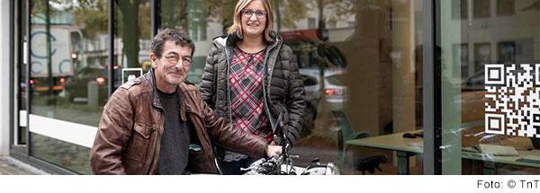 Tabitha Licht und Thomas Stingl, das Leitungsteam der TnT Pflegeberatung
