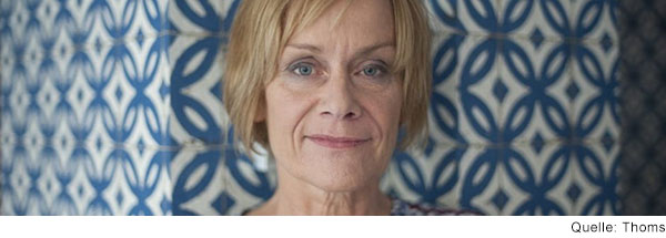 Eva-Maria Thomas, Vorsitzende des mittendrin e.V. in Köln