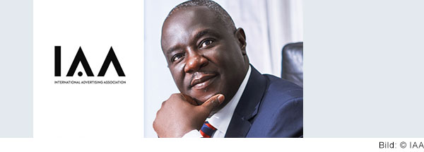 Portrait von Joel Edmund Nettey, Senior Vice President (Incoming President) IAA Global – International Advertising Association