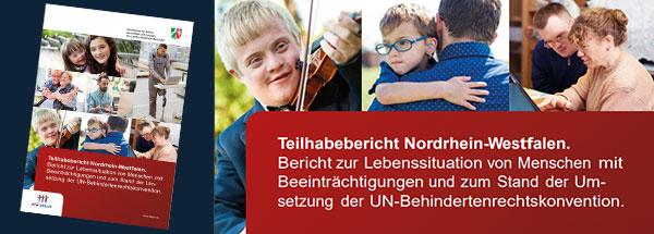 Titel des Teilhabeberichts NRW