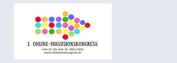 Logo des Online-Inklusionskongresses