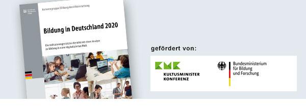Bild vom Bildungsbericht, gefördert von der Kultusminister-Konferenz und demBundesministerium für Bildung und Forschung