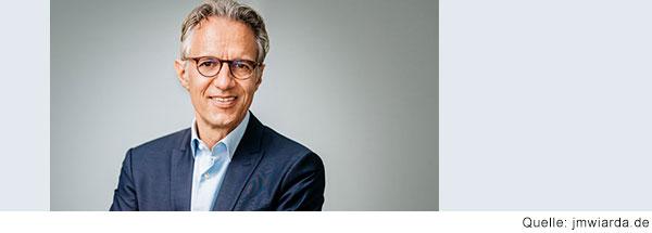 Portrait von Jörg Dräger, Vorstand der Bertelsmann-Stiftung