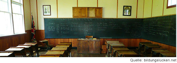historisches Klassenzimmer