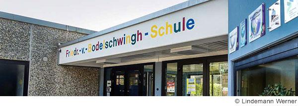 Eingang der Friedrich-von-Bodelschwingh-Schule