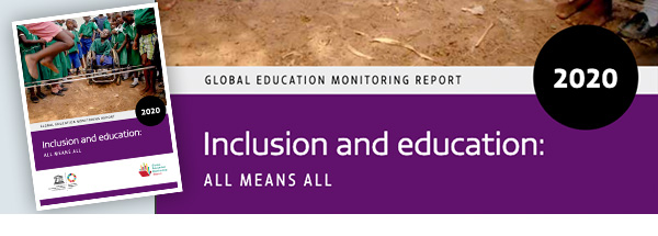 Bild vom Titel des Global Education Monitoring Report