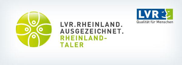Logos von LVR und Rheinlandtaler
