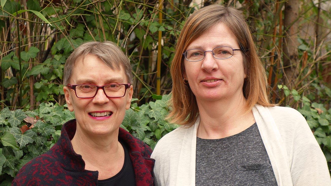 Kirstenmalzwei: Kirsten Ehrhardt und Kirsten Jakob