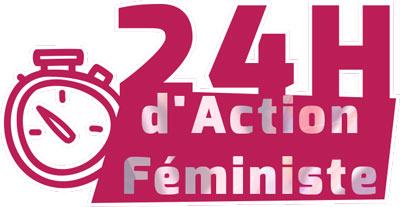 Logo 24H d'actions féministes