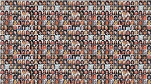Visages de femmes autochtones disparues ou assassinées