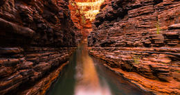 Hancock Gorge by Stuart Bell