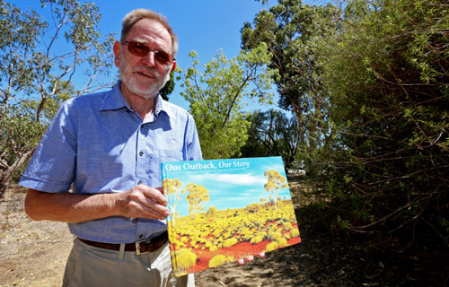 Outback book presented to MP Dean Nalder