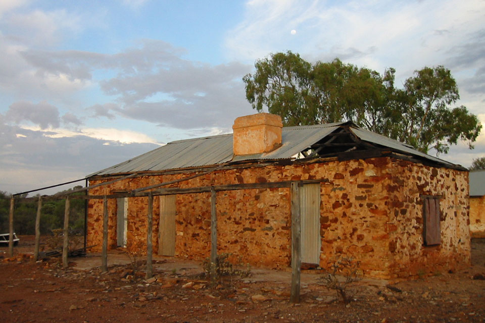 Heritage outbuildings at the former Cobra Station (photographer David Blood)